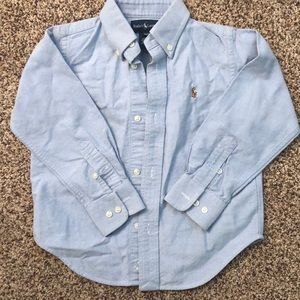 Boys polo button up shirt